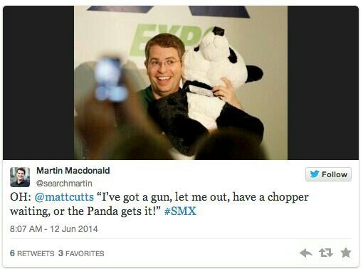 Matt Cutts and the Panda