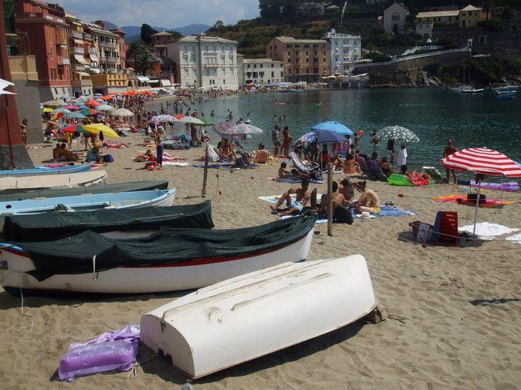 The Bay of Silence in Sestri Levante, Liguria in Italy.