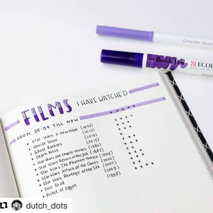 """2,109 Likes, 4 Comments - Keep it simple (@minimalistbujo) on Instagram: """"#TGIF! @dutch_dots is aaall ready to watch shows & movies this weekend 😜 What are your plans? . . .…"""""""