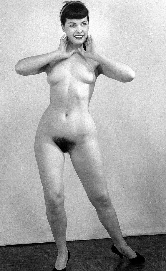 Bettie Page Hairy 48