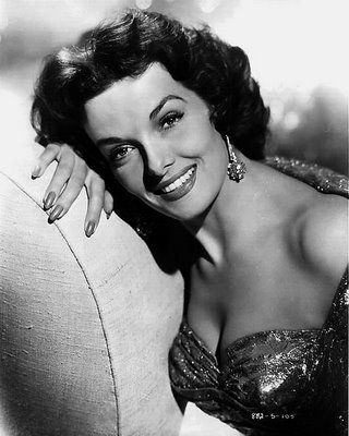 Jane Russell was a famous actress in the 50's and 60's too. She and Marilyn Monroe were terriffic in Gentlemen Prefer Blondes. She even did a sequel called Gentlemen Marry Brunettes which I think is funny.