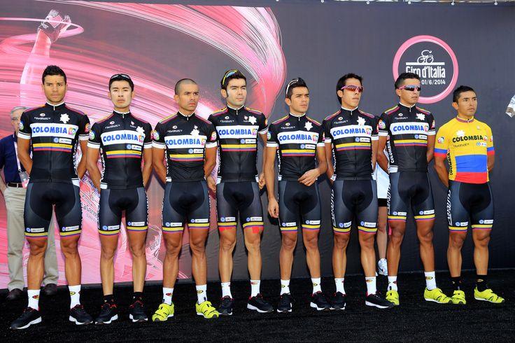 Team Colombia #ciclismo #colombia #integratori #supplements