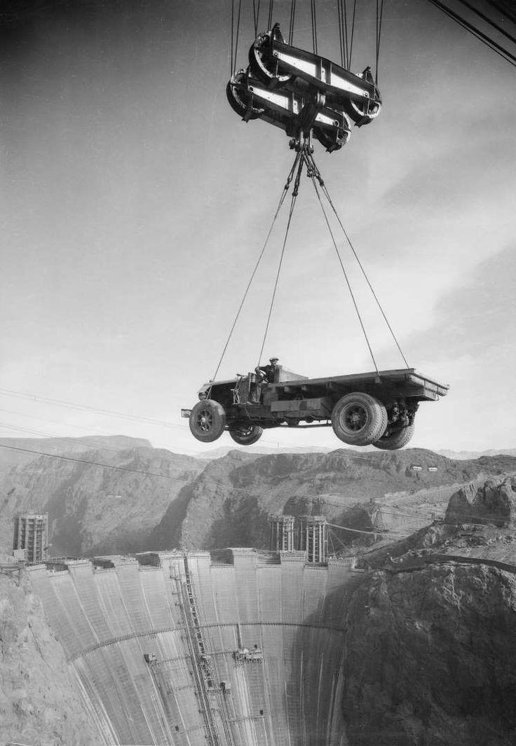 Hoover Dam construction - Dick Whittington Studio/Corbis via Getty Images