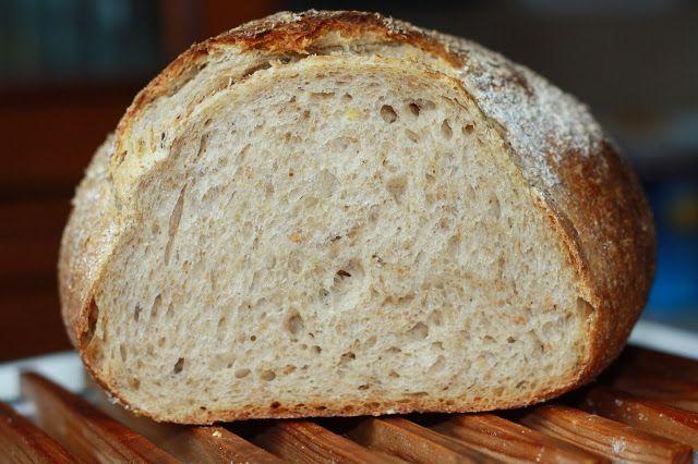 Кухня Gucia: Хлеб из Вермонта на закваске