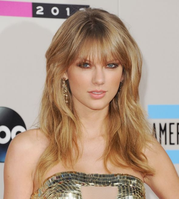 Taylor Swift's makeup look at the AMA's