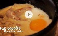 Découvrez en vidéo la recette des œufs cocottes aux échalotes et aux giroles. Délicieux, rapide et ultra facile !