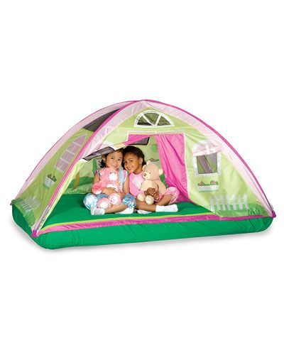 Walmart Pacific Play Tents Cottage Bed Tent Twin  Or buy one.Or buy one a recover with different material.  sc 1 st  Pinterest & 25 best Bed tents for kids images on Pinterest | 3/4 beds Bed ...