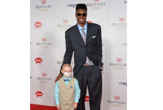 Video: Nerlens Noel and special guest Kelly Melton at the Kentucky Derby
