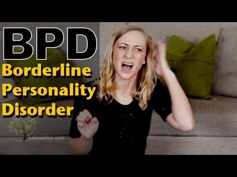Borderline Personality Disorder: mental health with Kati Morton - YouTube