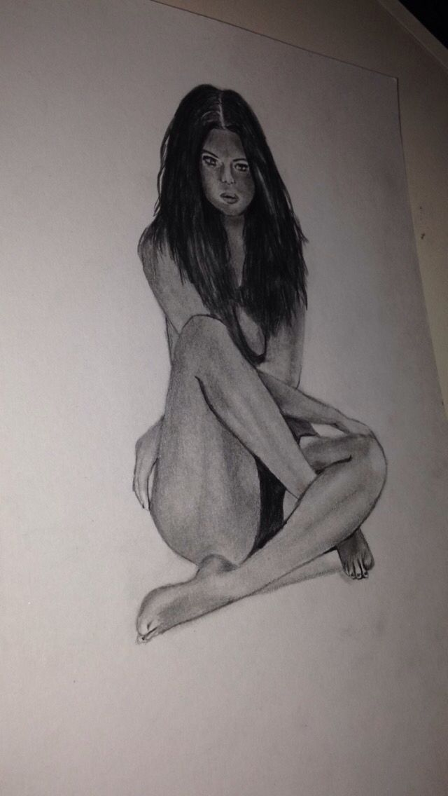 Selena Gomez drawing #art