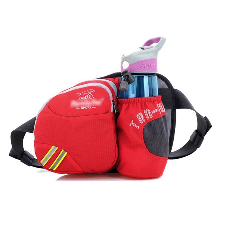 Multifunctional Waterproof Waist Pack with Water Bottle Holder Waist Bag Fanny Pack for Running / Hiking / Camping / Cycling / Traveling / Any Outdoor Sport ^^ A special outdoor item just for you. See it now! : Backpack