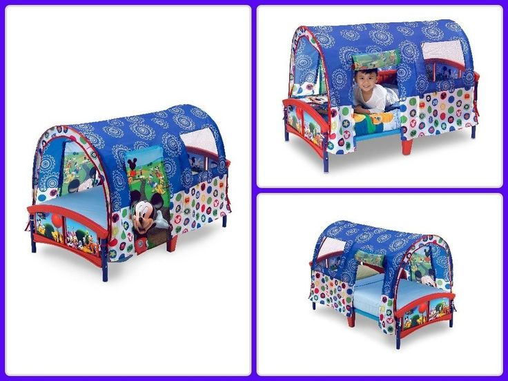 Delta Children Toddler Tent Bed Boy Girl Bedroom Furniture Disney Mickey Mouse  sc 1 st  Pinterest & The 25+ best Mickey mouse toddler bed ideas on Pinterest | Mickey ...