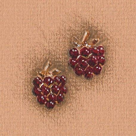✨ Happy #BurnsNight! ✨  To celebrate we have Scottish #Raspberries for a Scottish #Poet!  ✨  #Raspberry #BillSkinner #illustration