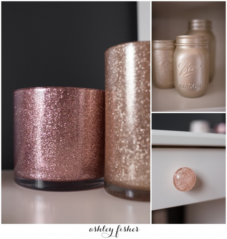 Glitter Vases grey and white liatorp ikea office remodel