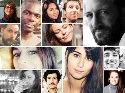 20151120 - Quei volti che chiedono giustizia. I 129 nomi, fotoricordo. PICTURE: Corriere della Sera