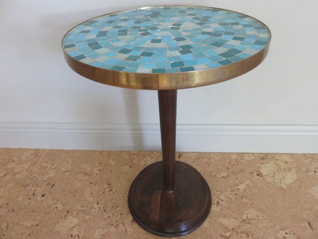 Jane And Gordon Martz For Marshall Studio's Mid-Century Modern Mosaic Tile Top Table by FLORIDAMODERN on Etsy