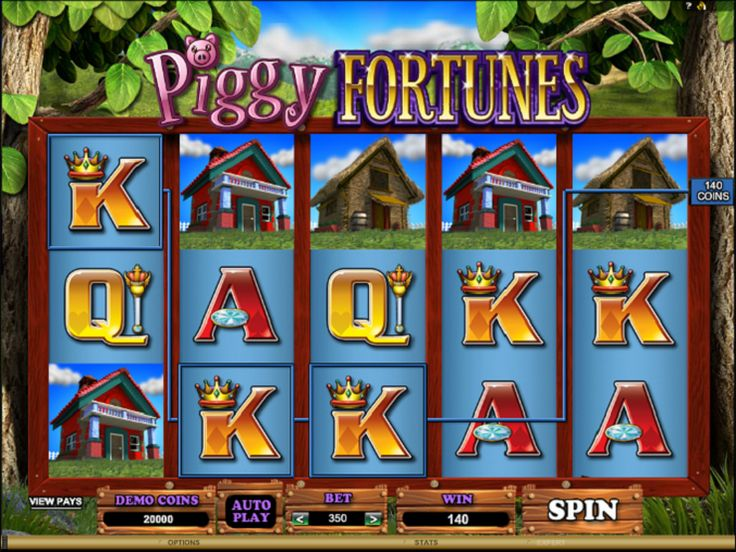 Piggy Fortunes free #slot_machine #game presented by www.Slotozilla.com - World's biggest source of #free_slots where you can play slots for fun, free of charge, instantly online (no download or registration required) . So, spin some reels at Slotozilla! Piggy Fortunes slots direct link: http://www.slotozilla.com/free-slots/piggy-fortunes