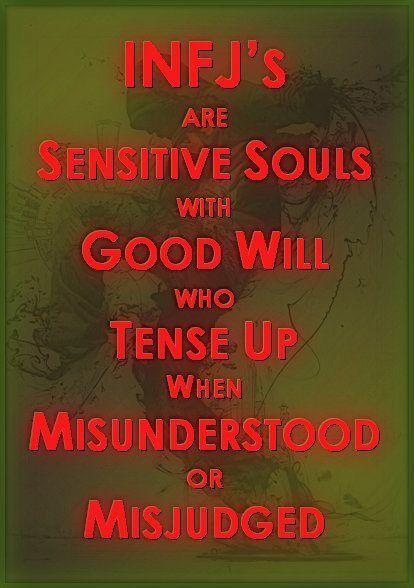 INFJ's are Sensitive Souls...