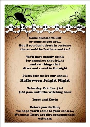 42 best halloween party invitations images on pinterest christmas find colorful and spooky halloween party invitations to personalize for your special occasion stopboris Image collections