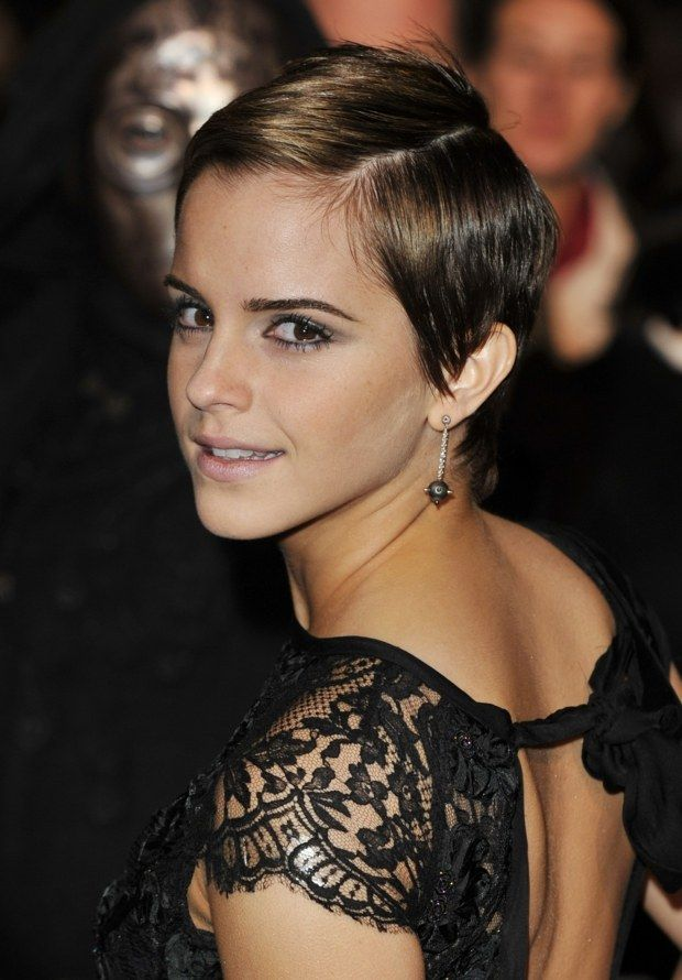 die besten 25 emma watson frisuren ideen auf pinterest. Black Bedroom Furniture Sets. Home Design Ideas
