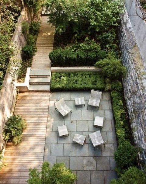 26 Beautiful Townhouse Courtyard Garden Designs | DigsDigs