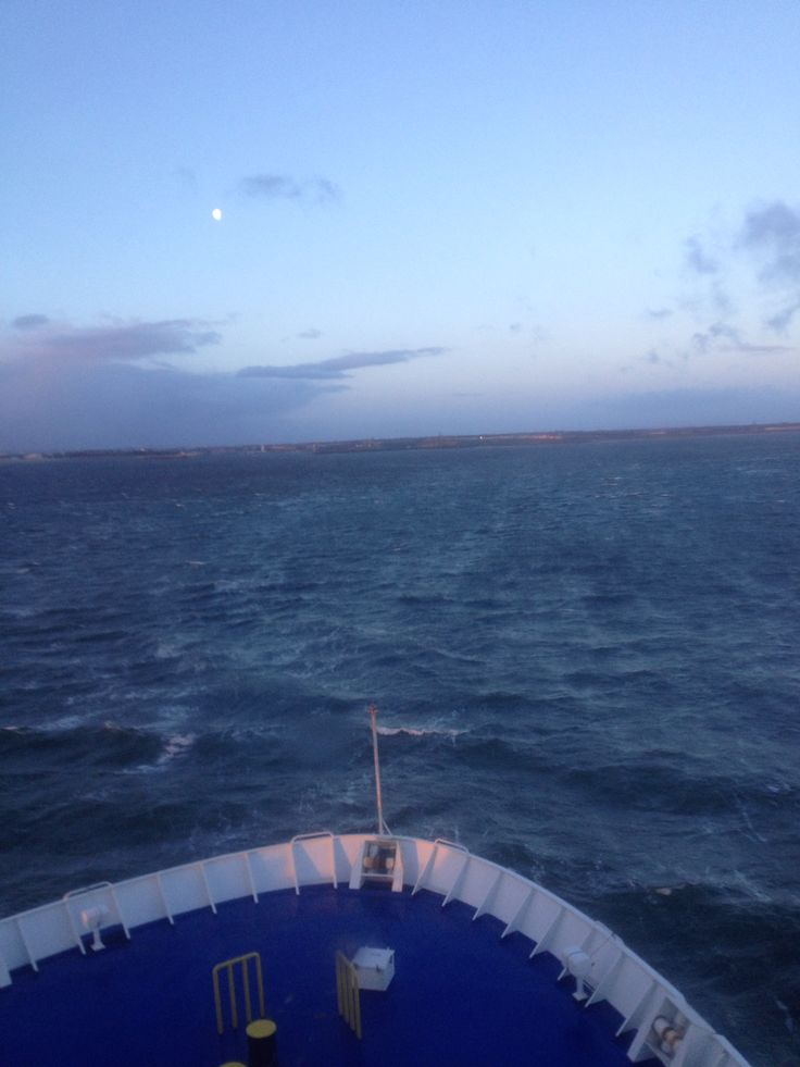 Met de ferry naar Newcastle