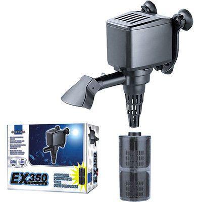 350 DX GPH Powerhead Filter Water Pump Aquarium Fish 1300 L 40-60 Gal Odyssea