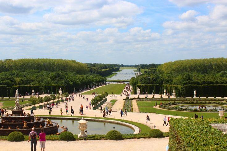 O castelo de Versailles - Expresso Paris
