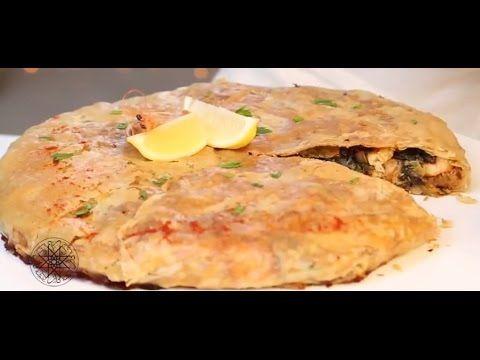 Pastilla au poisson et aux crevettes à la Chermoula https://www.youtube.com/watch?v=U2j6PsT5WoM