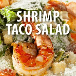 The Chew: Chef Clinton Kelly & Carla Hall's Shrimp Taco Salad Recipe