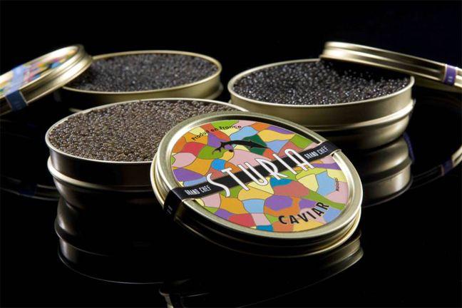Caviar Sturia. Le caviar Haute Couture.