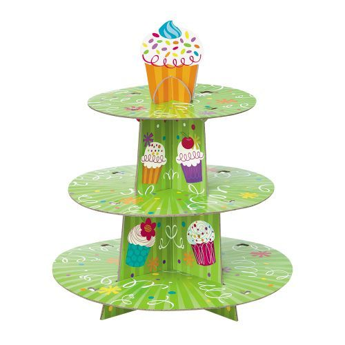 Cupcake Party Cupcake Stand - Cupcake Party Supplies