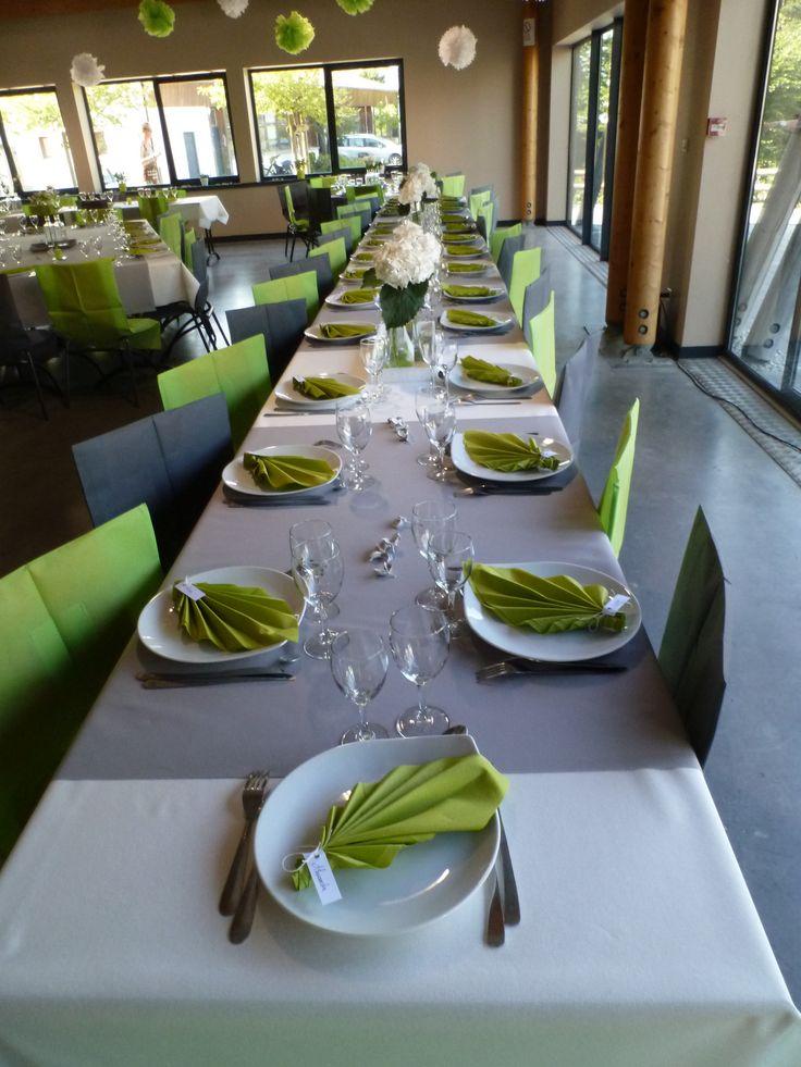 pliage feuille acanthe, , et centre de table hortensia