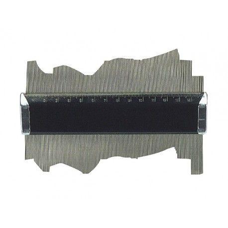 LIMIT Profilová šablóna 150mm - štukatérsky hrebeň Profile patterns Limit