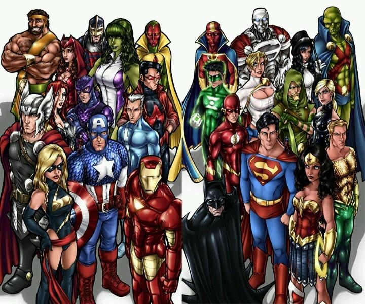 Avengers Pinterest: Avengers Vs Justice League