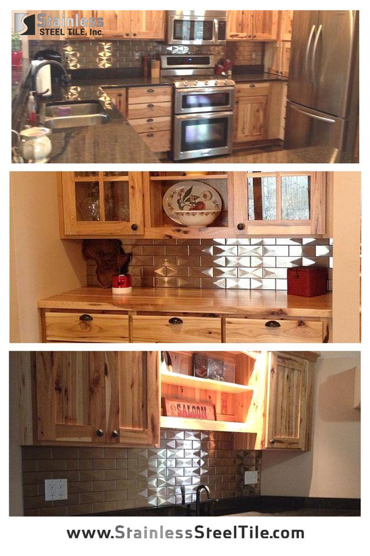 192 best Backsplash Kitchen Ideas images on Pinterest   Stainless ...