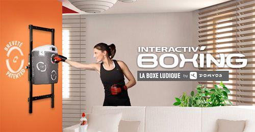 Interactiv' Boxing Punching Bag - looks like something I need for work