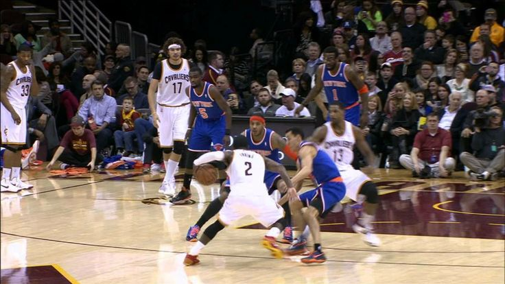 Kyrie Irving Unleashes A Lethal Crossover on Pablo Prigioni!