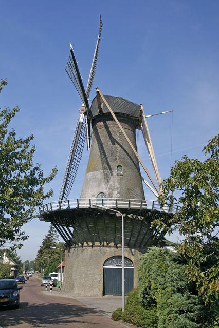 't Vliegend Hert, Binnenmaas, 's Gravendeel, Zuid-Holland.