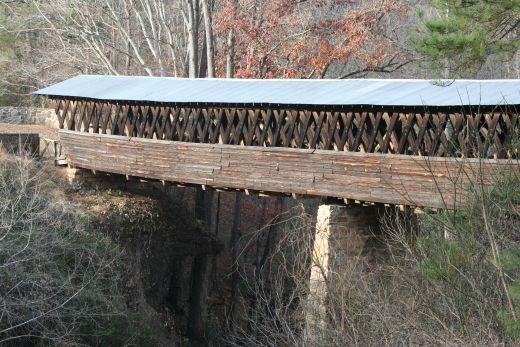One of Georgia's covered bridges