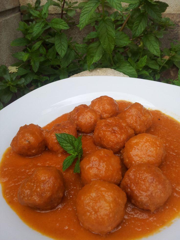 Albóndigas en salsa - Tvcocina . Recetas de Cocina Gourmet Restaurantes Vinos Vídeos