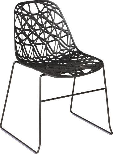 Les 25 meilleures id es de la cat gorie des chaises en plastique sur pinteres - Chaise transparente habitat ...