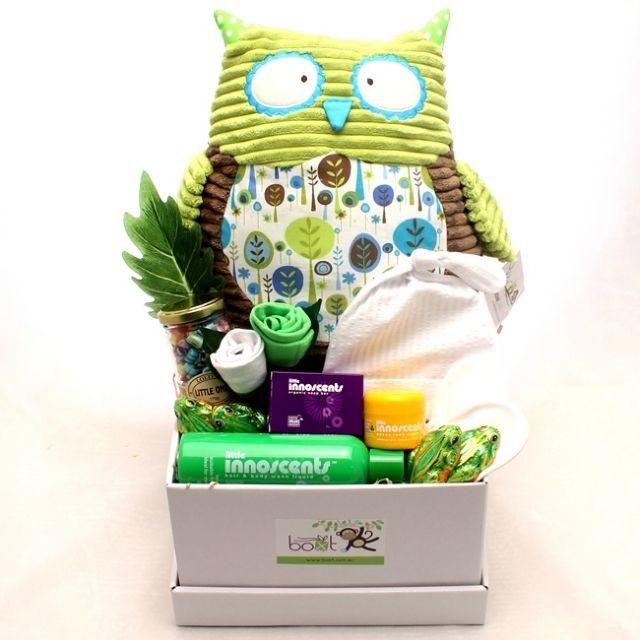 Hoot Baby Gift Hamper - Green Brown http://www.boxt.com.au/product3941/detail/hoot-baby-gift-hamper-green-brown/ www.boxt.com.au