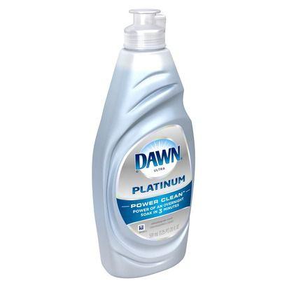 Dawn Original Plus Power Scrubbers Dishwashing Liquid 19 oz