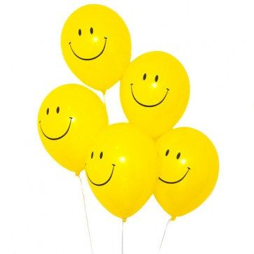Smiley Face Balloons, Happy Face Balloons, Yellow Smiley Face Balloons for Birthday Party, Kids Party, 80s Party, Party Balloons, by LittlePartyEventCo on Etsy https://www.etsy.com/au/listing/294544973/smiley-face-balloons-happy-face-balloons
