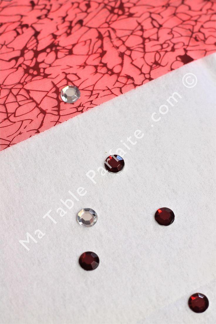 1000 images about d co de table rouge et blanc on pinterest - Deco rouge et blanc ...
