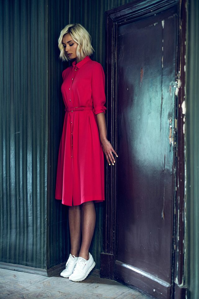 Полина Гагарина в рекламной кампании Alexander Terekhov, resort 2016 (фотограф Дмитрий Исхаков)