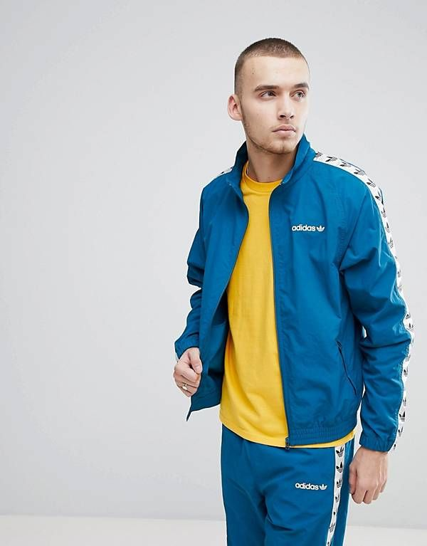 adidas Originals Vintage Track Jacket With Taped Side Stripe