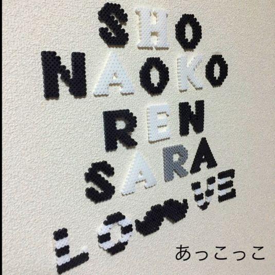 オーダー♡モノトーン名前インテリア♡