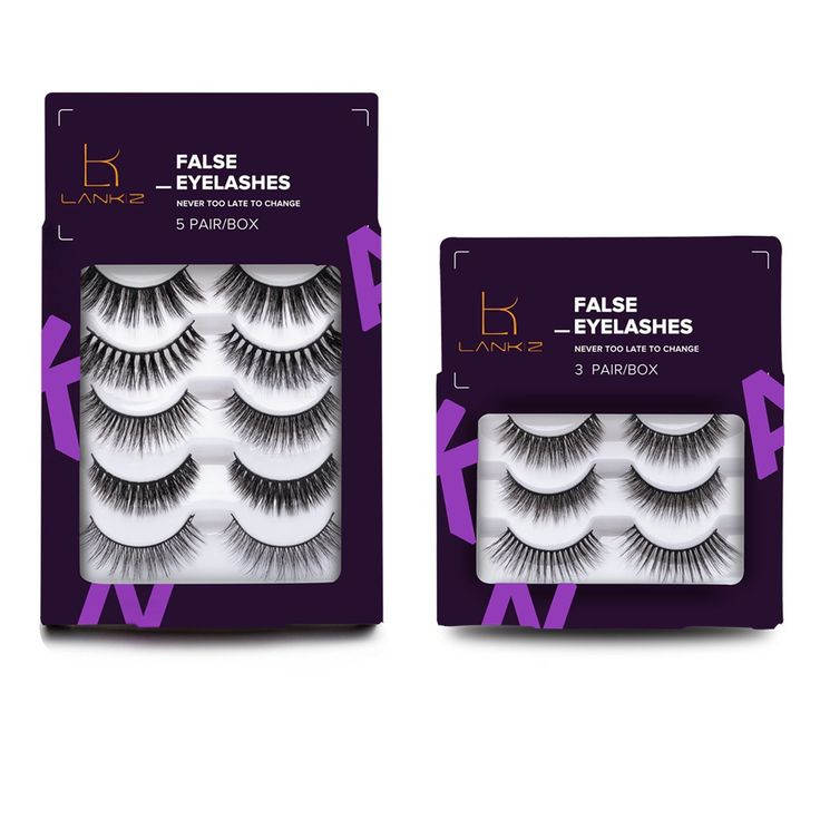 False Eyelashes Natural Multipack 3D Long Lasting Handmade Variety Pack Fake Eye Lashes in Bulk 8 Pairs/2 Pack by LANKIZ. NATURAL:false eyealshes update styles,more natural,looking thinner band and less glue residual than before,easy to use,feel comfortable and lightweight,suitable for daily or party use. COMFORTABLE:our false eyelashes use high quality material,100%handmade by professional workers,have comfortable thin band,soft and lightweight. VARIETY STYLE:multipack and different…